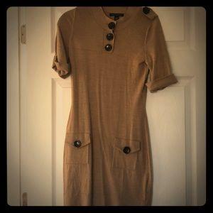 BR merino wool dress